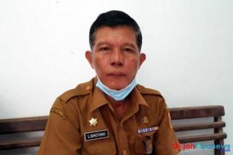 Sekretaris Daerah Kabupaten Dairi, Drs. Leonardus Sihotang